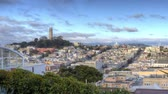 vitoriano : San Francisco. A Zoom In Panoramic View of North Beach and Coit Tower.