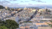 vitoriano : San Francisco. Panning Panoramic View of North Beach and Coit Tower.