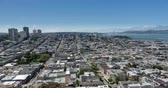 vitoriano : San Francisco Aerial View towards Russian Hill and the Golden Gate Bridge