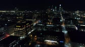çapa : Aerial View Center City Philadelphia & Surrounding Area at Night