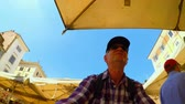 Рим : Bike riding at the typical market of Rome FDV (self shot)