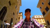 Narrow alleys in Rome FDV (self shot)