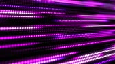 kontinuita : Pink and purple abstract technology background of little light dot stripes. Motion waving glowing d-focused little ball particles. Abstract creative pop colorful motion.