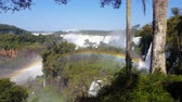 Panoramic Waterfalls and Rainbow 4K