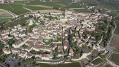 borgonha : Aerial view of the Entire Saint Emilion Vídeos