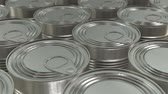 консервы : Canned food 3D render
