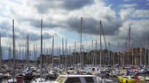 stožár : Editorial: 20th September 2017: St-Malo, France. Many yachts in the harbor.