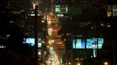jam : la city road lapse Stock Footage