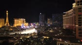 patio : las vegas strip time lapse night