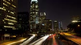 Лос Анджелес : Los Angeles zoom out 101 timelapse