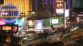 week end : time lapse las vegas night
