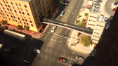 américa central : time lapse of traffic seen from above