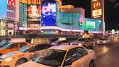 limousine : Traffic and Vegas