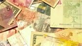 mortgage crisis : Banknotes from around the World rotating