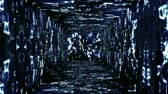 aura : Tunnel design on Hebrew characters concept animation