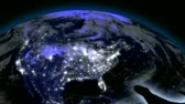 satelite : Earth from Space Alien Invasion USA Wideo
