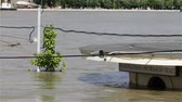 asmak : River Danube on its peak level at 891cm  8.91m  32.185ft in Budapest Hungary in June 2013. Largest flood in the city of the last 500 years