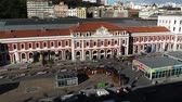 pátio : Principe Pio Madrid Spain - Railway and Metro Station as well as an entertaining center.Shopping mall and cinemas
