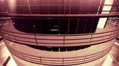 architectural : 4K Ultra Modern Data Center 3D Animation Stock Footage