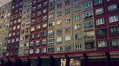 Československo : Eastern European Panel Plattenbau Block Building Establishing Shot 3D Animation