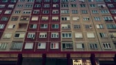 russian : Eastern European Panel Plattenbau Block Building Establishing Shot 3D Animation