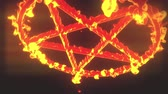 modla : 4K Pentagram on Fire Magic Symbol 3D Animation 3 Dostupné videozáznamy