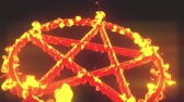 pentagramm : 4K Pentagram on Fire Magic Symbol 3D Animation 5