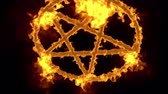 pentagramm : 4 K Pentagramm auf Feuer Magic Symbol mit Matte 3D Animation 3 Videos