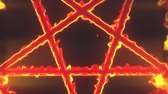 pentagramm : 4K Pentagram on Fire Magic Symbol Zoom Out 3D Animation 1