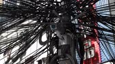 sloppy : Messy Electric Cables System and Surveillance Camera 3D Animation