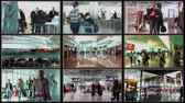 surveillance : 4K Airport Passenger Terminal Security Camera System