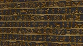 stone wall : 4K Vertical Golden Egyptian Mystic Hieroglyphs Riddle Ancient Wall v2 2