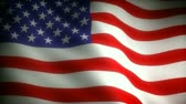 waving : Flag of USA (seamless)