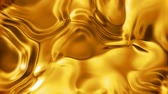 romance : Liquid gold metal surface seamless looping Stock Footage