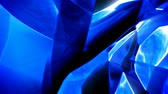 facet : Blue abstract shiny glass background seamless loop Stock Footage