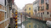 pontes : view of Venice Itlay in Winter