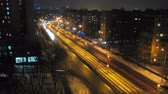 taillight : timelapse of night traffic in Kiev