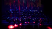 melodia : DNIPRO, UKRAINE - FEBRUARY 11, 2018: Symphonyic Show performed by members of the Dnipro Opera and Ballet Theater - conductor Yuri Porohovnik. Stock Footage