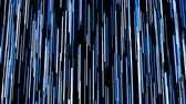 frequent : Abstract blue rain, seamless loop 3d animation on black background.
