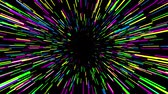 asmak : Multicolored jump into hyperspace, 3d animation