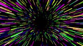 asmak : Flying trought hyperspace, multicolored abstract animation, seamless loop