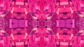 emaranhado : Abstract simple 3D background in red purple gradient color, low poly style as modern geometric background or mathematical environment with kaleidoscopic effect. 4K UHD or FullHD seamless loop.