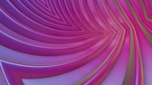 rozjařený : popular gradient color stripes move cyclically. Abstract 3d smooth seamless bright background in 4k. Simple geometry in cartoon creative style. Looped animation. Curves 4 Dostupné videozáznamy