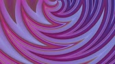 rozjařený : popular gradient color stripes move cyclically. Abstract 3d smooth seamless bright background in 4k. Simple geometry in cartoon creative style. Looped animation. Curves 5 Dostupné videozáznamy