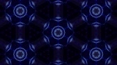 美的 : complex blue composition of particles form a periodic structure. 3d loop animation with particles as a sci-fi background. Vj loop for night club, parties, festival or holidays presentation. 15