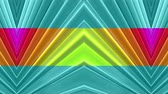 rayonnant : Abstract 3d seamless bright background in 4k with rainbow tapes. Rainbow multicolored stripes move cyclically in simple geometry cartoon creative style. Looped smooth animation. 53 Vidéos Libres De Droits