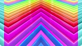 gioconda : Rainbow multicolored stripes move cyclically. 8