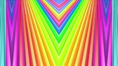 spektrum : Rainbow multicolored stripes move cyclically. 14