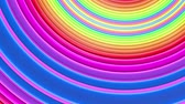 espectro : Rainbow multicolored stripes move cyclically. 19 Stock Footage
