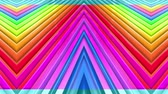 kesintisiz desen : Rainbow multicolored stripes move cyclically. 23